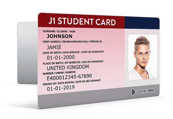 Student Student Card Irish Card Irish Student Irish Card
