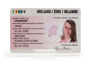 Irish Fake ID | Top Quality Legal Fake ID from €20 including hologram